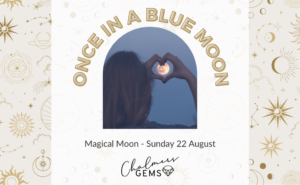 Full Blue Moon - Crystal Cleansing